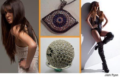 magazine layout    http://www.toofab.com/2011/03/07/brittny-gastineau-lisa-hsn-gastineau-glamour-tres-glam-jewelry/