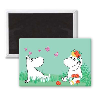 Moomins Magnet by Tove Jansson | on StarEditions.com - Wholesale Prints and Gifts