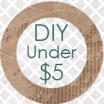 www.alittletipsy.com/ many great craft and decorating ideas, all for $5 or less!