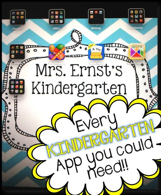 A comprehensive list of apps you can use for technology in your classroom!