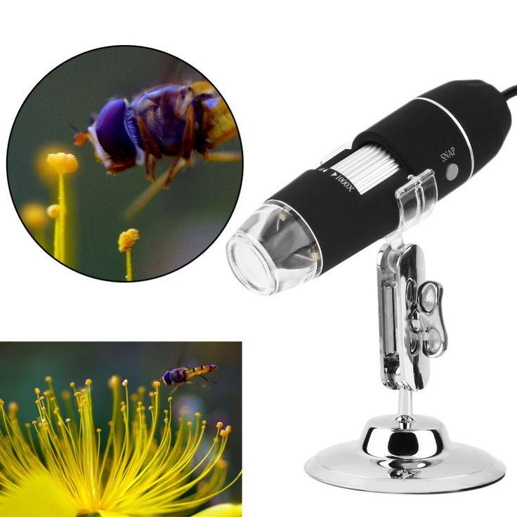Microscopio Digital Endoscopio Mega Píxeles 800X8 LED USB Cámara