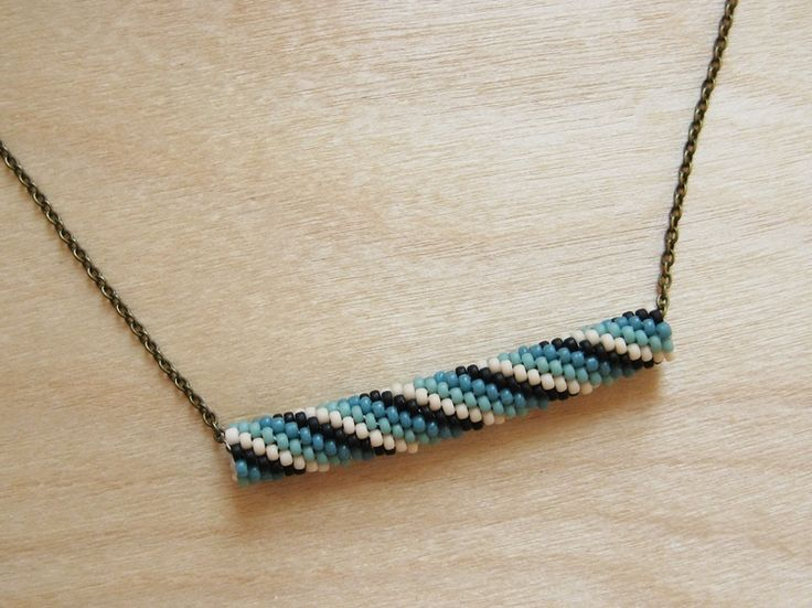 Beaded Bead Necklace - How Did You Make This? | Luxe DIY