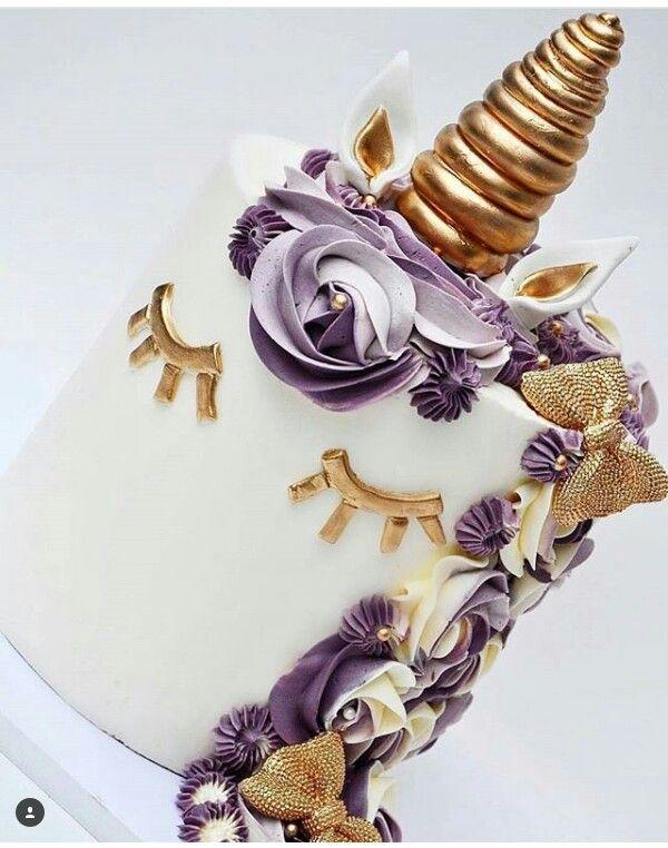 Beautiful Unicorn Cake