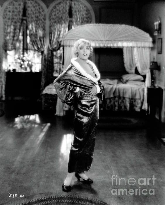 Mae Murray (1885-1965). Silent film star. (Bizarre Los Angeles)