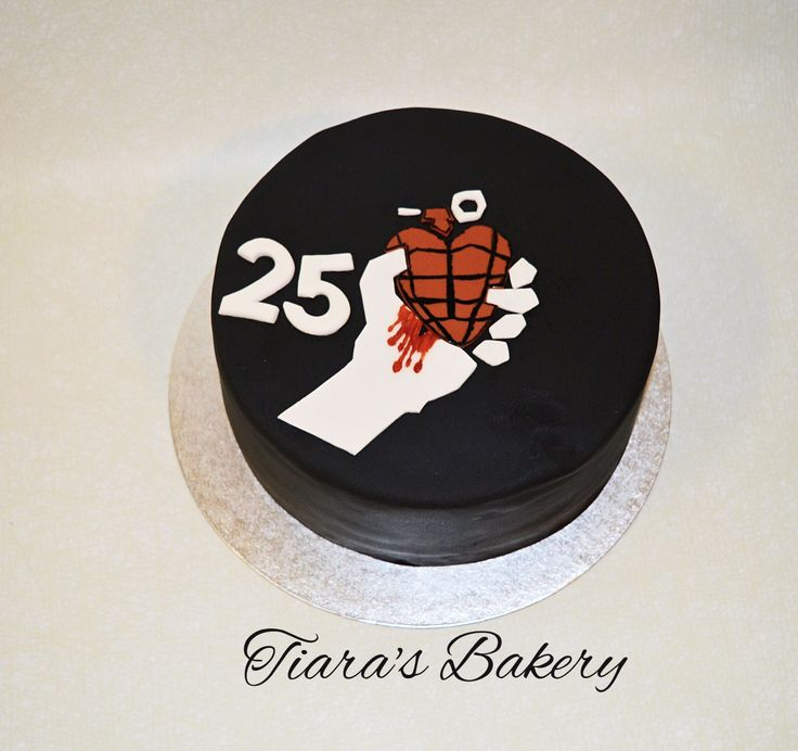 Green Day Cake, american idiot, by Tiara's Bakery, Switzerland