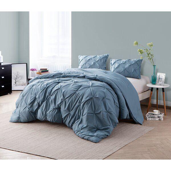 Keila Comforter Set In 2020 Twin Xl Bedding College Comforter Blue Comforter
