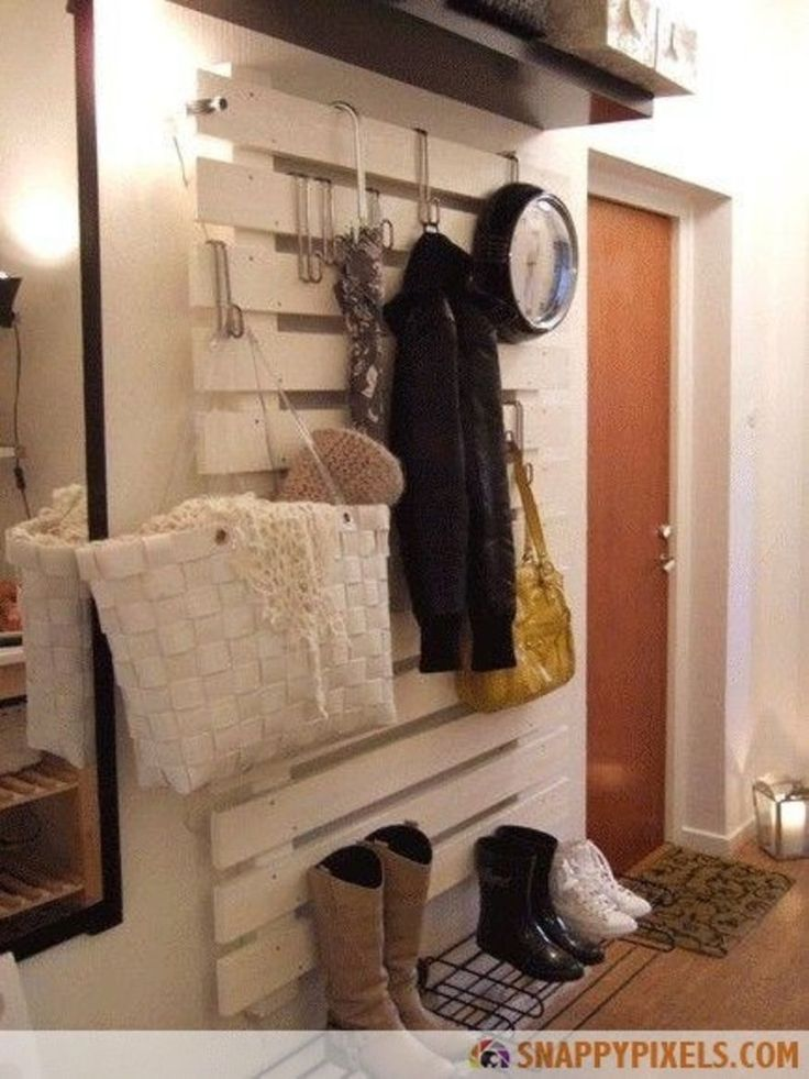 Crate A Keepall Area Where You Can Hang Coats, Purses, And Such!