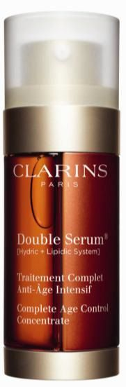 Really Ree reviews Clarins Double Serum- ' Complete Age Control Concentrate'