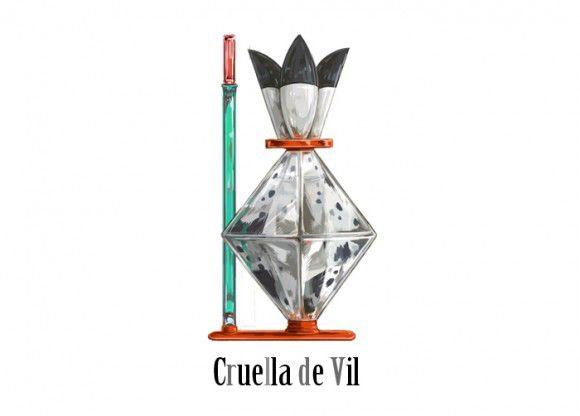 『101匹わんちゃん』のクルエラ・ド・ヴィル