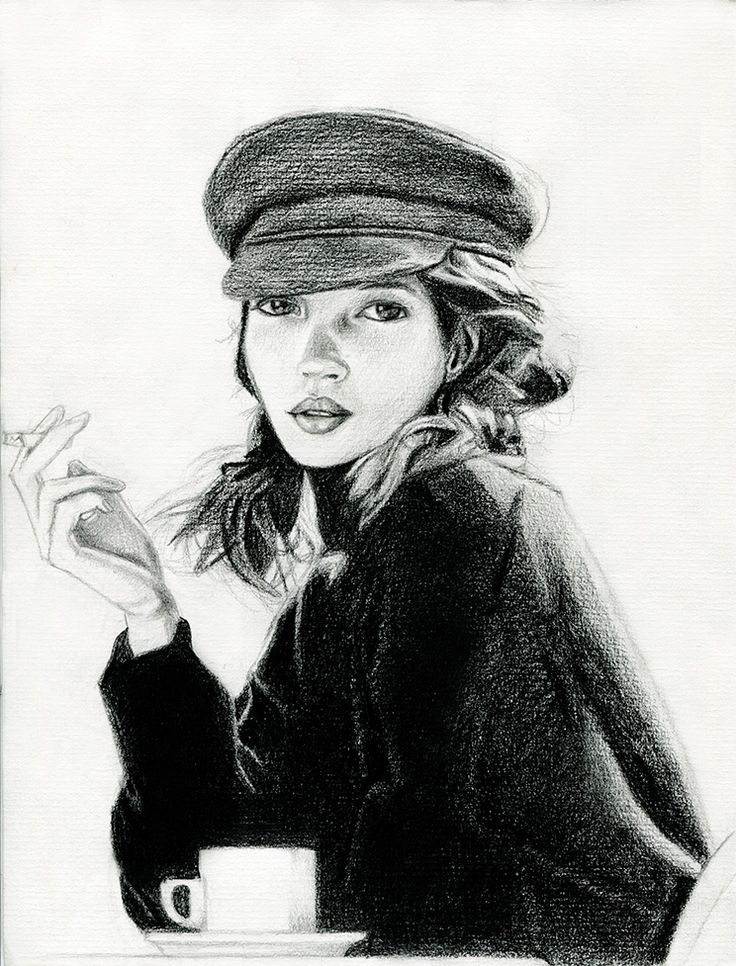 Kate Moss - by Karina Zyga (Vistingri)