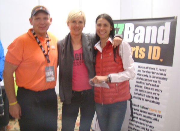 Brian, Lucie and Marinda at the IMSA Expo