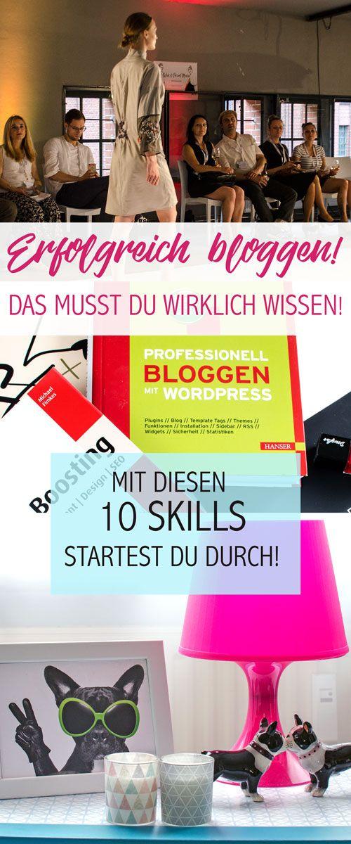 Erfolgreich bloggen! So startest du als Blogger durch! Diese Skills muss du haben, um mit deinem Blog erfolgreich zu sein. Bloggertipps mit denen du erfolgreich in die Selbständigkeit gehen kannst. Enjoy my blogtips :-)