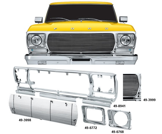 Billet Grilles and Custom Chrome Steel Grille Shell