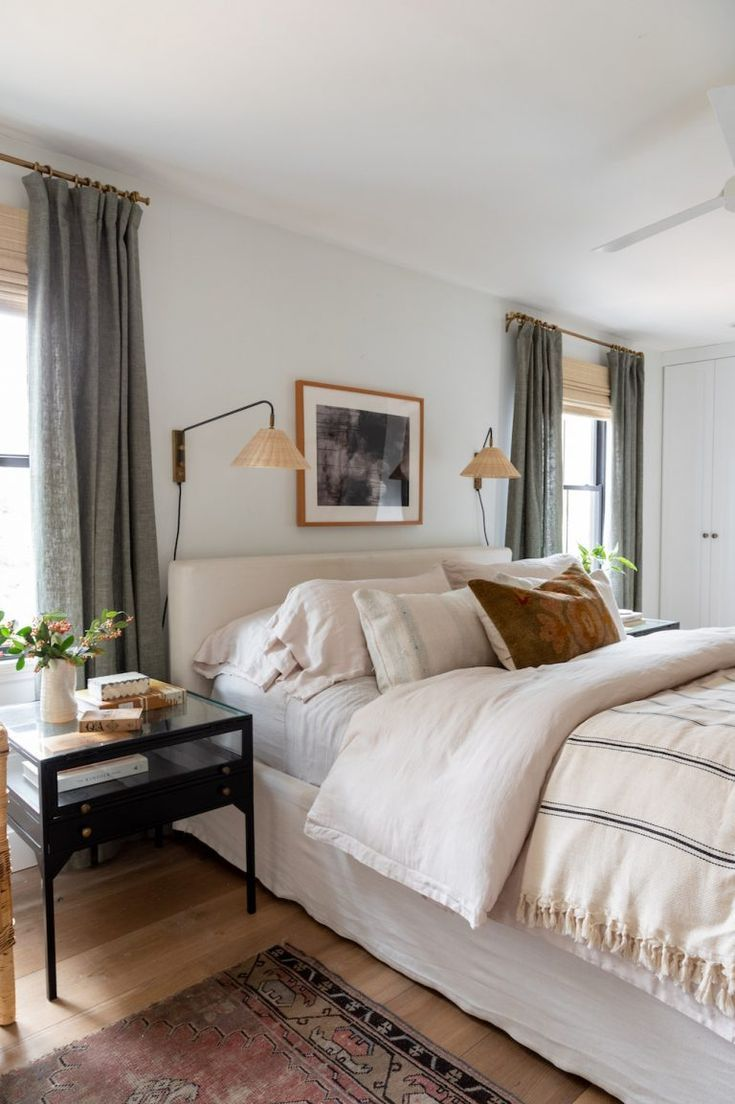 This Design Couple S Cottage Is A Stunning Blend Of Vintage And Modern In 2020 Home Bedroom Bedroom Interior Bedroom Inspirations
