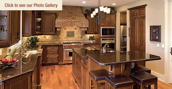 Custom Kitchen Photos Home Decor Pinterest