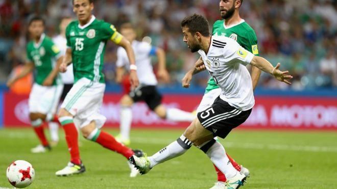 Covesia.com - Timnas Jerman akan melakoni laga final Piala Konfederasi 2017 bersama Chile setelah sukses menaklukkan wakil Amerika Latin Meksiko dengan skor...