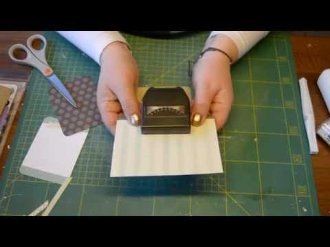 Blomsterbox card tutorial - video