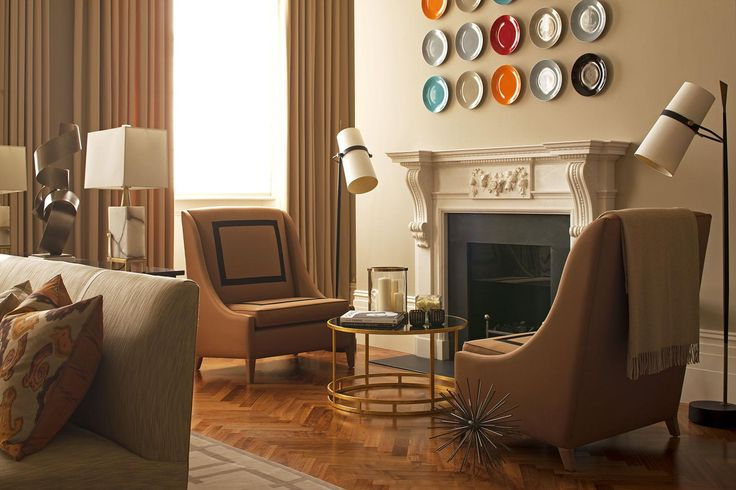 Hyde Park Luxury Apartment - Living Room Detail - Interior Design by Intarya – Interior Design by Intarya