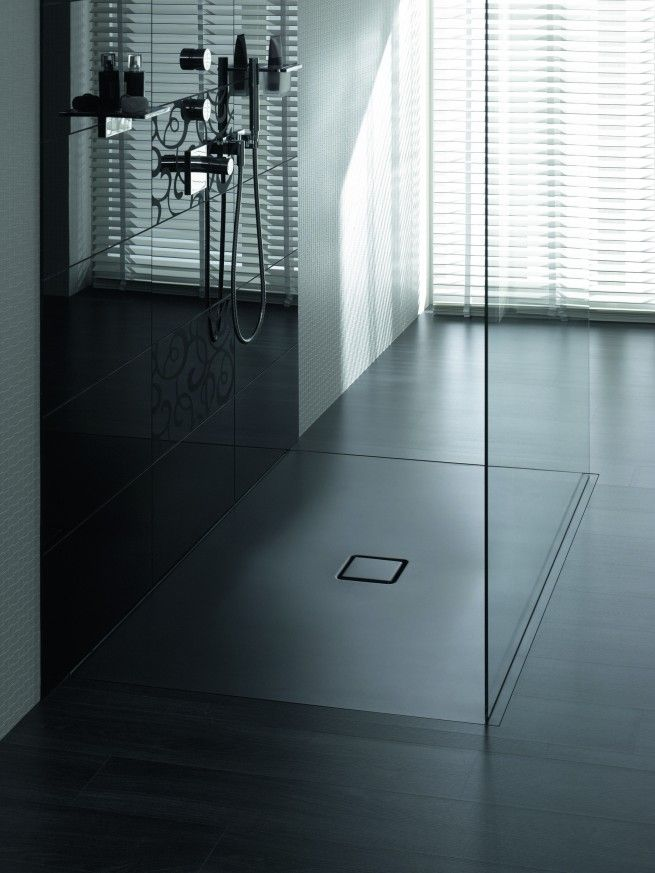 Conoflat Nero Lava Opaco | Ultra design zuhanytálca