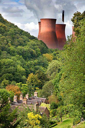 Ironbridge Power Station Ironbridge Shropshire England, via Flickr.