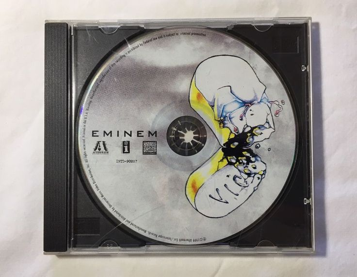 The Slim Shady LP [PA] by Eminem (Cd Aug-1999) NO INLAY/BOOKLET  | eBay