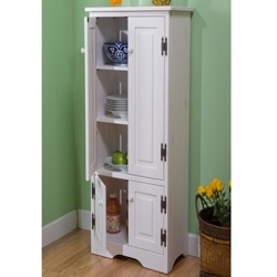 Simple Living Extra Tall Cabinet Pine Cabinets And Pantry
