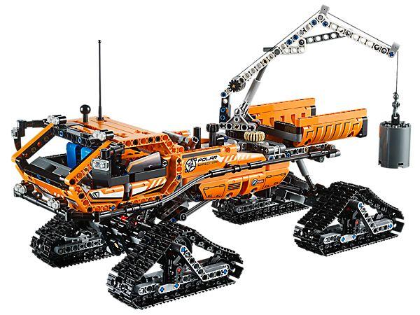 Affronte le terrain arctique le plus difficile avec le véhicule arctique LEGO® Technic