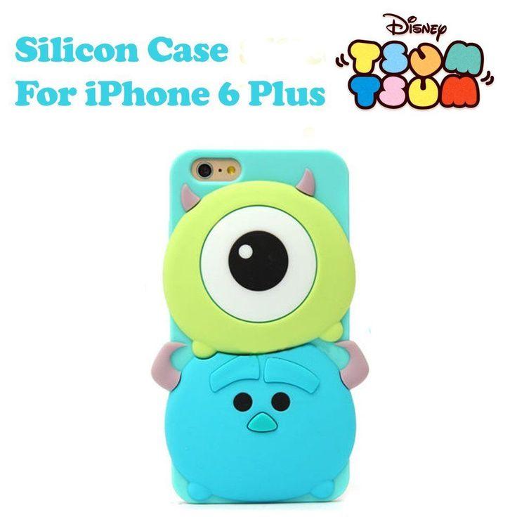 Disney Genuine Tsum Tsum Monsters University Silicon Case for iPhone 6 Plus