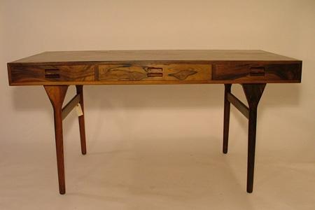 Nanna Ditzel skrivebord i palisander produceret af Søren Willadsen