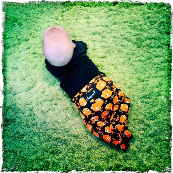 Oranssi Ötökkö potkarit