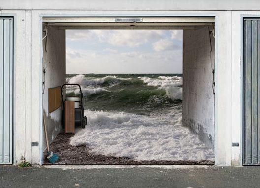 Vinyl wraps on unusual objects google search wraps - Garage door vinyl wrap ...