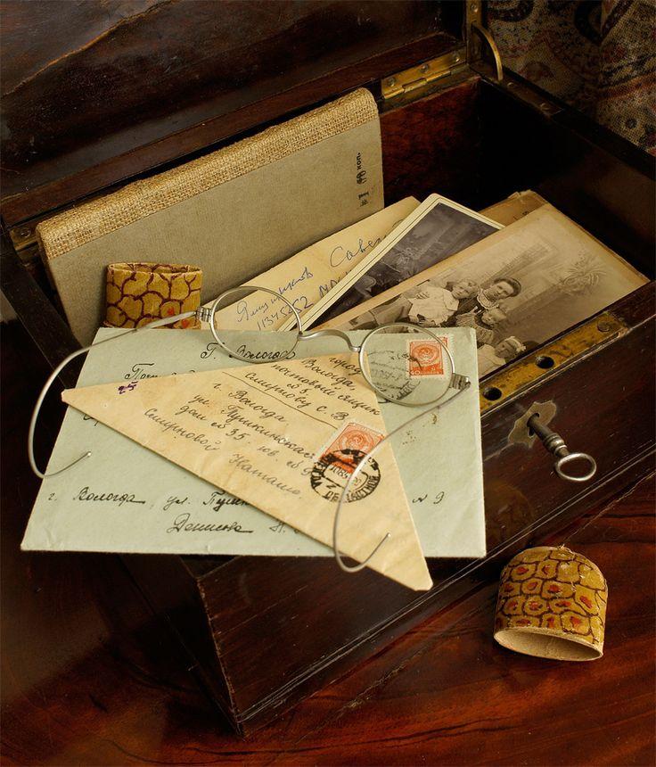 Открытка письмо фото