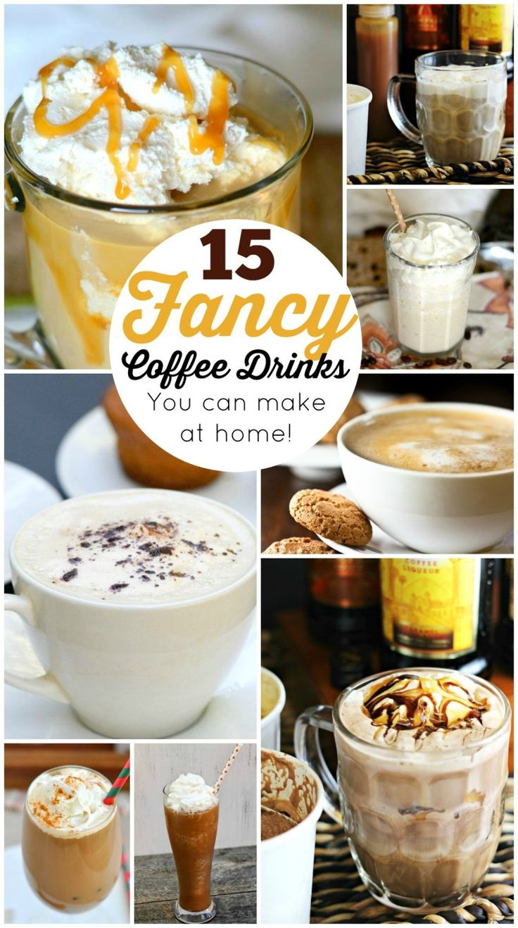 15 fancy coffee drinks you can make at home diy word