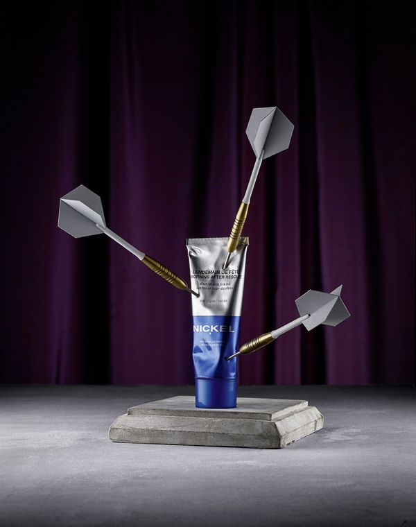 Damaged Cosmetic for WAD n°52 by Le Creative Sweatshop , via Behance