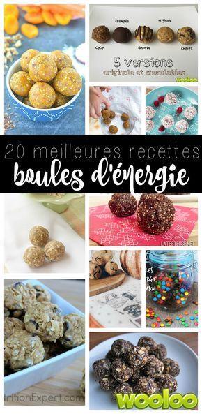 J'ai fouiné, cuisiné, testé puis enfin trouvé les 20 meilleures recettes de boules d'énergie!