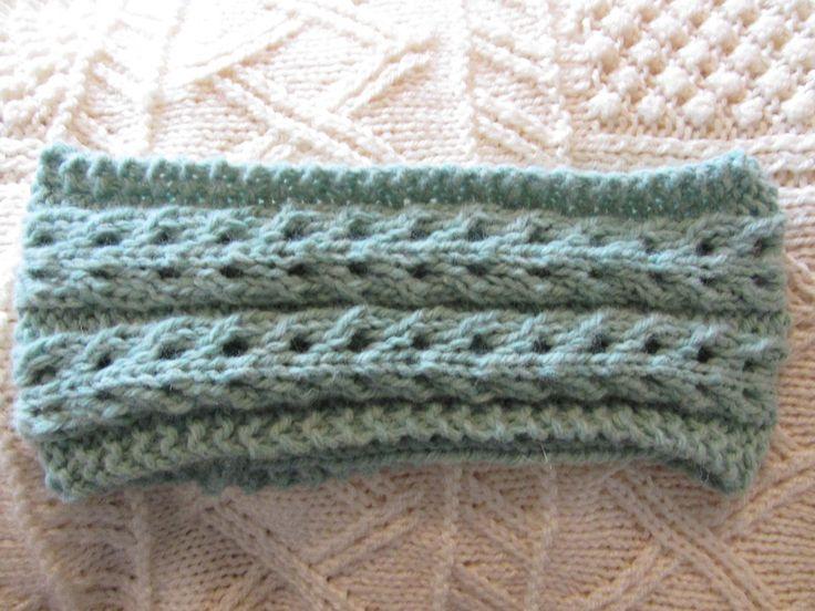 Knit Lace Headband Pattern : 25+ best ideas about Knit Headband Pattern on Pinterest ...