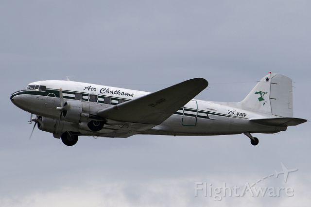 Air Chathams, Douglas DC-3 (ZK-AWP) at NZAA