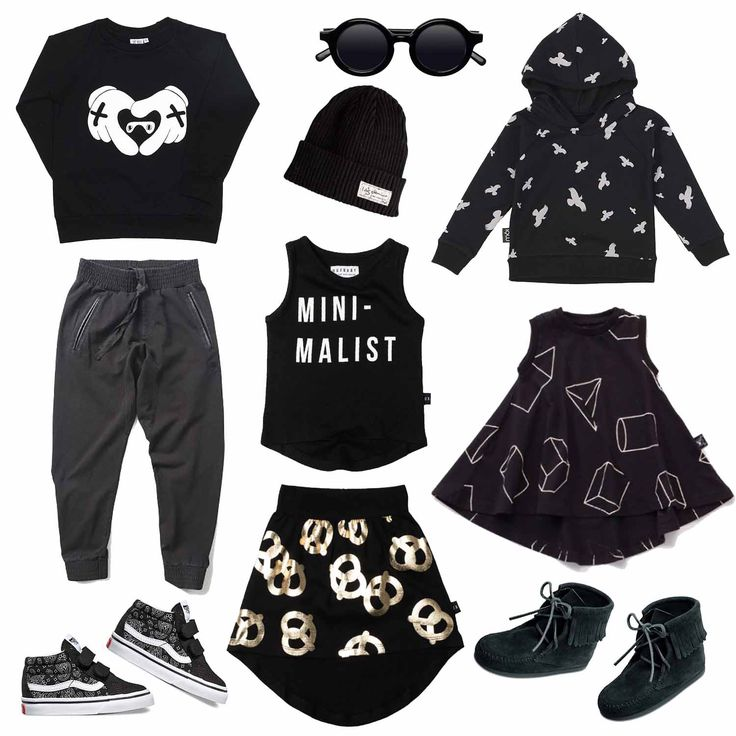The coolest baby and toddler clothes in black, all on sale at Baby Dino! www.babydino.com.au