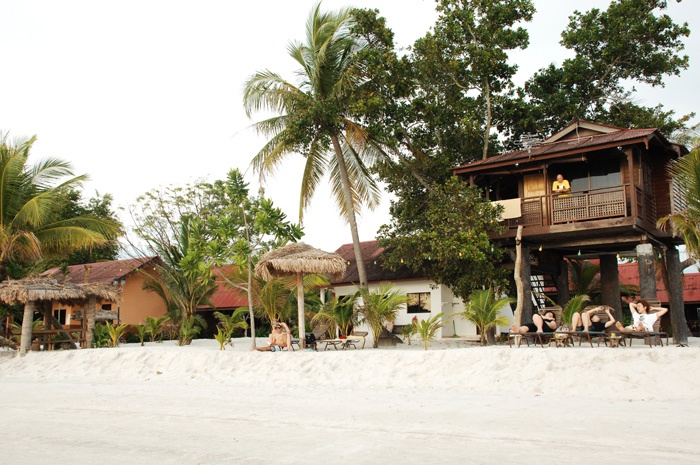 Living it up in a Beach side tree house Langkawi Malaysia! amazing!