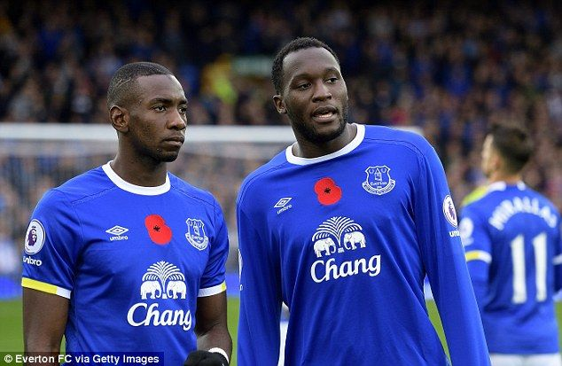 Yannick Bolasie (left) and Romelu Lukaku both speak the same little-known African language