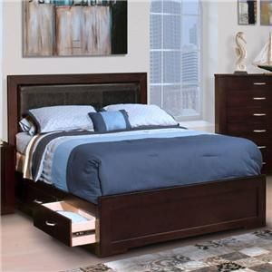 New Classic Malibu King Storage Bed   Knoxville Wholesale Furniture    Captainu0027s Bed | Warehouse Loft Style | Pinterest | Wholesale Furniture,  Storage Beds ...