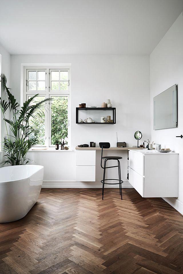 Parkett Das Highlight Im Bad Bad Badezimmer Inspiration
