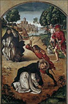 La muerte de San Pedro Martir, Pedro Berruguete (1493-1499)