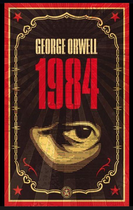 Capa da primeira edição do romance de George Orwell, publicado em 1949.