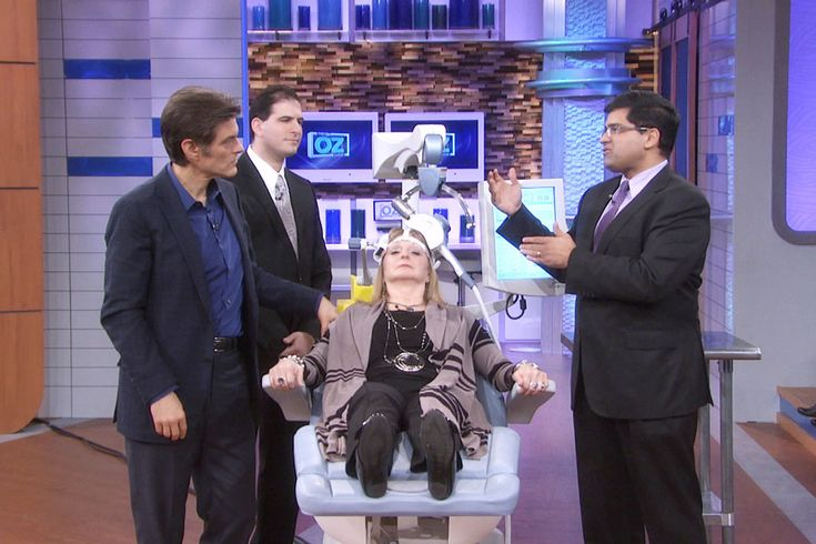 Check this out! Transcranial Magnetic Stimulation: A Cure for Depression? This is Mike's Company on Dr. Oz!