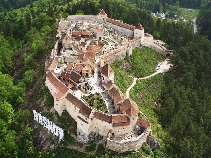 Cetatea Rasnov Rasnov Fortress - Brasov County