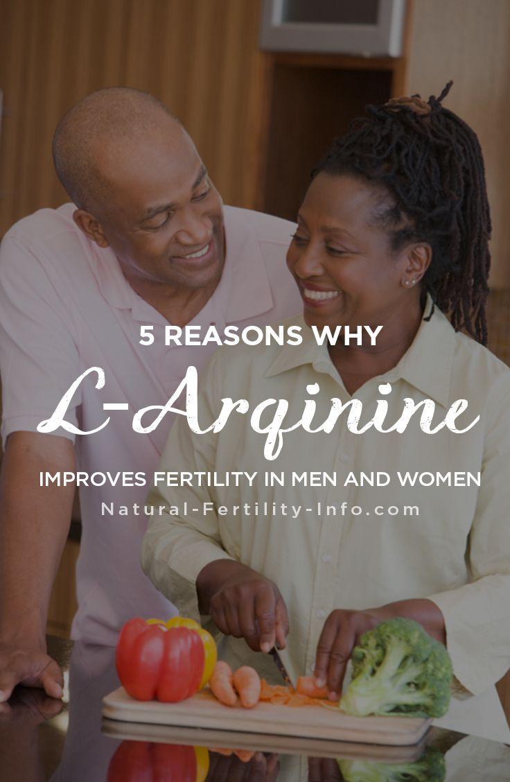 L-arginine infertility