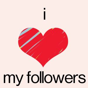 I love you guys so much! Any more people I shall follow tonight? Oh and btw, I LOVE it when you comment on my pins. It makes me smile!! Love you followers, you rock. Stay strong, God bless you all.