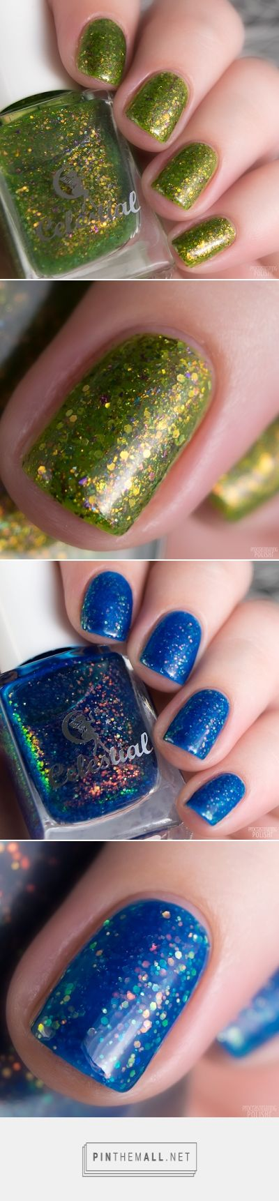 Celestial Cosmetics March Releases - Sparkly Jellies Eye of Envy Mesmerised