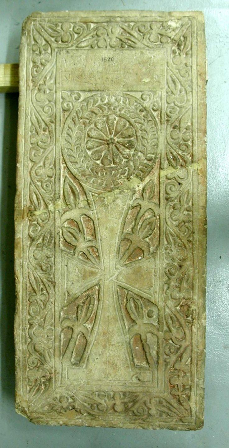 Limestone stela; cross beneath a rosette; foliate border. Culture/periodCoptic term detailsByzantine term details Date5thC-8thC (Badawy 1978) Production placeMade in: Egypt